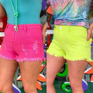 Neon Rave shorts (other colors)