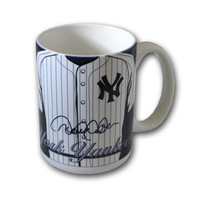 MLB New York Yankees Derek Jeter Jersey Coffee Mug