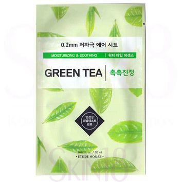 Etude House 0.2 Therapy Air Mask #Grean Tea