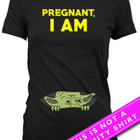 Pregnancy Announcement Shirt Baby Announcement Pregnant I Am Movie Shirt Gifts For Expecting Mothers Maternity Outfits Ladies Tee MAT-616