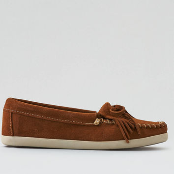 Minnetonka Newport Kilty Moccasin , Brown