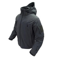 Soft Shell Jacket - Color: Black (Large)