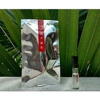 PRADA LUNA ROSSA SPORT EAU DE TOILETTE 1.5 ML 0.05 OZ Vial Sample
