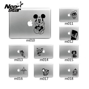 "Decal Stickers For Mac Decoration Sticker Case Skin For Macbook Air Pro For 11"" 13"" 15"" Micky Ultraman Many Cartoon Design New"