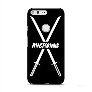 Michonne swords The Walking Dead Google Pixel XL 2 Case
