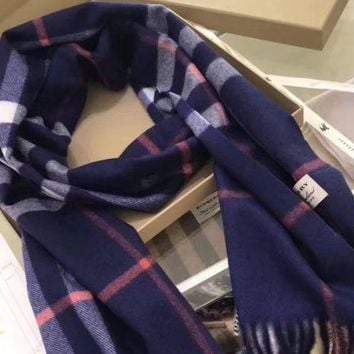 New!! Authentic Burberry 100% cashmere scarf