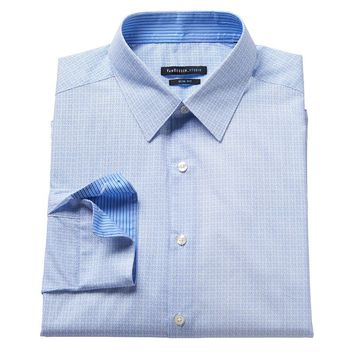 Dockers Classic-Fit Plaid No-Wrinkle Casual Button-Down Shirt