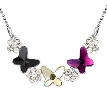 Stylish New Arrival Gift Jewelry Shiny Crystal Pendant Accessory Necklace [9819388879]
