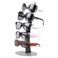 NuoYa001 New 5 Pair of Eyeglasses Sunglasses Glasses Sale Show Display Stand Holder Black