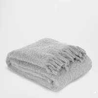 FRINGED MOHAIR BLANKET - Throws - Bedroom | Zara Home United States