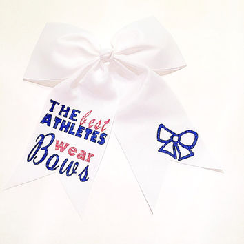 The Best Atheletes Wear Bows Hair Bow