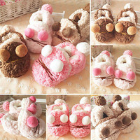 Baby Girl Newborn Winter Warm Boots Toddler Infant Sole Shoes 0-24 Month