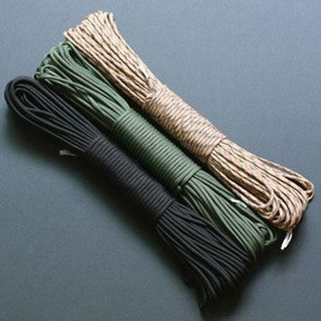 550 Parachute Paracord Cord Lanyard Rope Mil Spec Type III 7 Strand