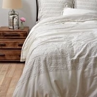 Fables & Feathers Duvet Cover - Anthropologie.com