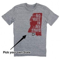 Human Rights Campaign Store | LGBT | No Hate In My State T-Shirt | States