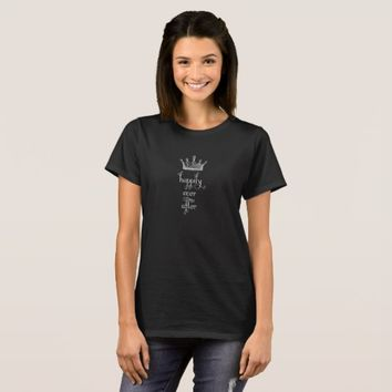 Happily Ever After Crown T-shirt
