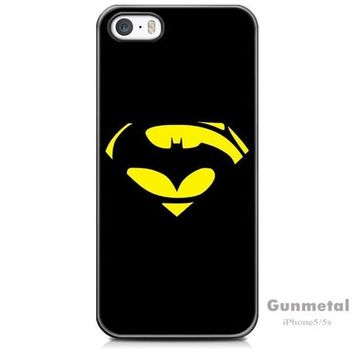 PEAPIX3 Superman and Batman iPhone 5/5s Case - mobile phone cover