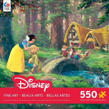 Ceaco Disney Snow White - A Sweet Goodbye 550 Piece Puzzle