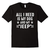Funny Shirt Gift For Dog And Jeep Lovers