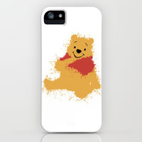 Winnie The Pooh iPhone & iPod Case by DanielBergerDesign