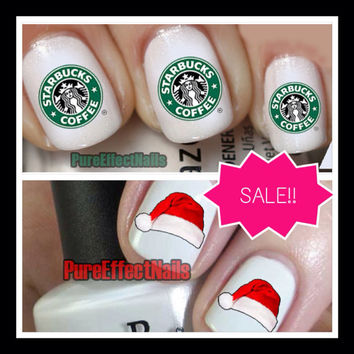 Sale Combo Pack Starbucks and Santa Hat Bundle