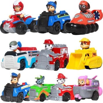 Paw Patrol Dog Puppy Patrulla Canina Action Figures vinyl doll Toy Kids Children Toys Gifts