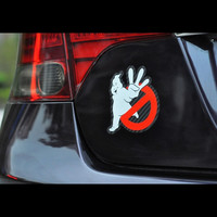 Ghostbusters Reflective Car Stickers