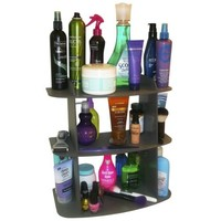 The Perfect Cosmetic Shelf ..No More Clutter! Triple Your Storage. Also Fits Great on Back of Toilet... Goes with Any Decor. Great Gift Item! Proudly Made in the USA !