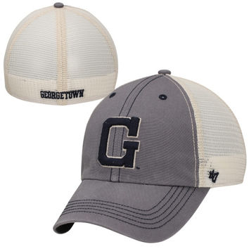 47 Brand Georgetown Hoyas Caprock Canyon Flex Hat - Charcoal/White