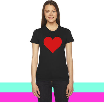 Heart1 women T-shirt