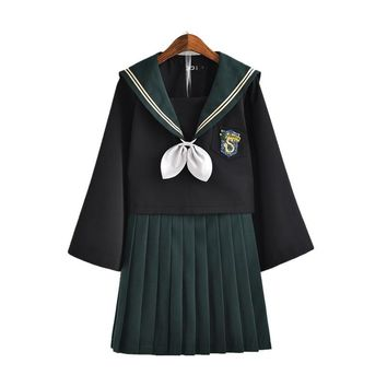 Anime Movie Harry Potter Cosplay Costume JK Uniform Dress for Students Graduates