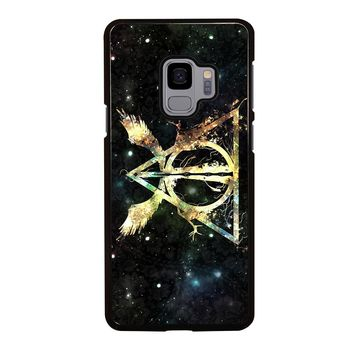 DEATHLY HALLOWS HARRY POTTER ICON Samsung Galaxy S3 S4 S5 S6 S7 S8 S9 Edge Plus Note 3 4 5 8 Case