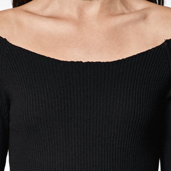 Kendall & Kylie Choker Off-The-Shoulder Sweater at PacSun.com