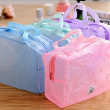 Women Cosmetic Bag Organizer Transparent Makeup Case Waterproof Travel Wash Beauty Case Storage Bags = 1715215556