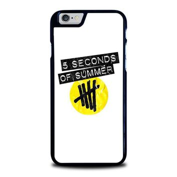 5 seconds of summer 2 5sos iphone 6 6s case cover  number 1