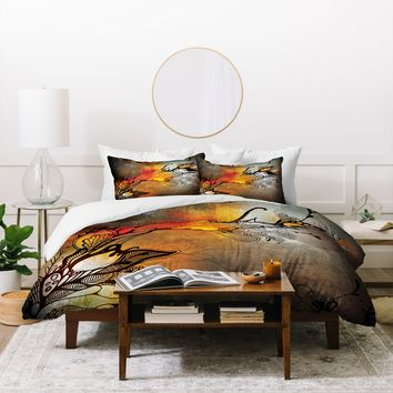 Iveta Abolina Before The Storm Duvet Cover