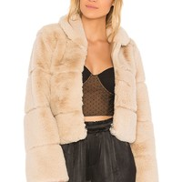 Lina Faux Fur Puffer Jacket
