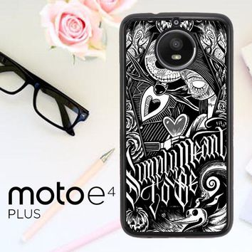 Jack And Sally Muertitos The Nightmare Before Christmas F0874 Motorola Moto E4 Plus Case