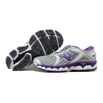 Mizuno Wave Sky Grey/Purple-White J1GD170269
