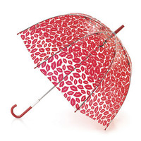 Red Lips Birdcage Umbrella | Umbrellas | Designer Accessories | Lulu Guinness