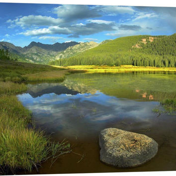 Mt Powell and Piney Lake, Colorado