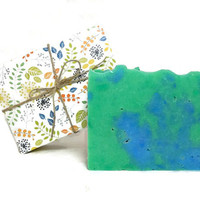 Eucalyptus Spearmint Soap, Handmade Soap, Vegan Soap, Gift under 10