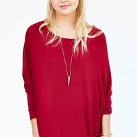 Silence + Noise Night Owl Dolman-Sleeve Top