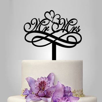 mr and mrs cake topper, vintage cake topper, wedding cake topper, acrylic cake topper, heart cake decoration