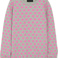 Markus Lupfer - Smacker printed cotton-terry sweatshirt