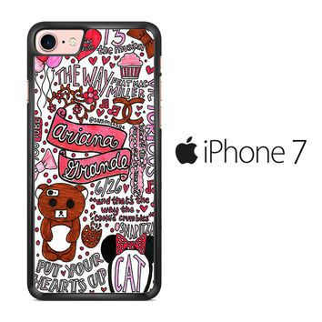 Ariana Grande Quotes iPhone 7 Case