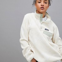 Patagonia Synch Snap-T Pullover at asos.com