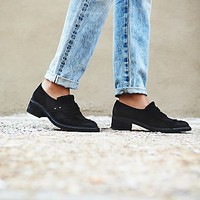 Sixty Seven + Free People Womens Riders Kilty Brogue