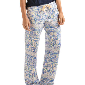 Anchor Isle Knit Lounge Pants