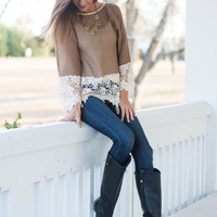 In The Morning Blouse, Mocha